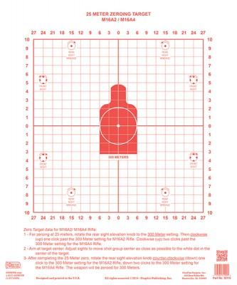 M16A1 & M16A2 v3 NO ARROWS  RED-1 tiny