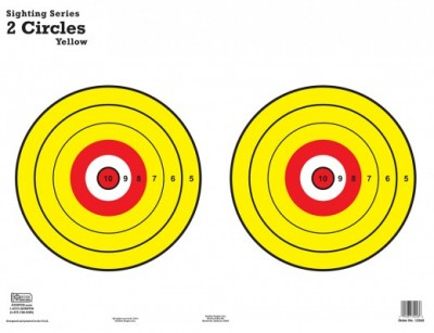 2 Circles Yellow 12260