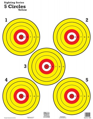 5 Circles Yellow